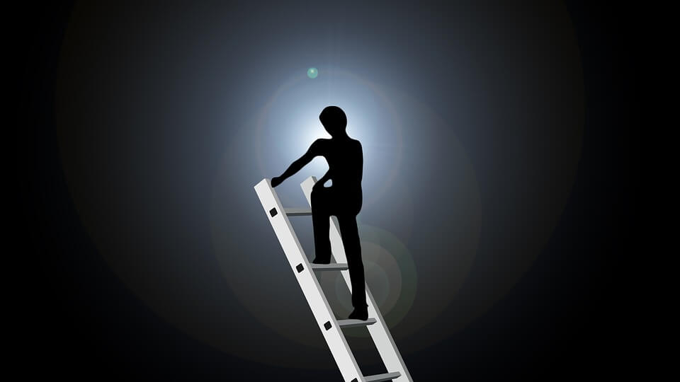 Dream about falling off a ladder (1)